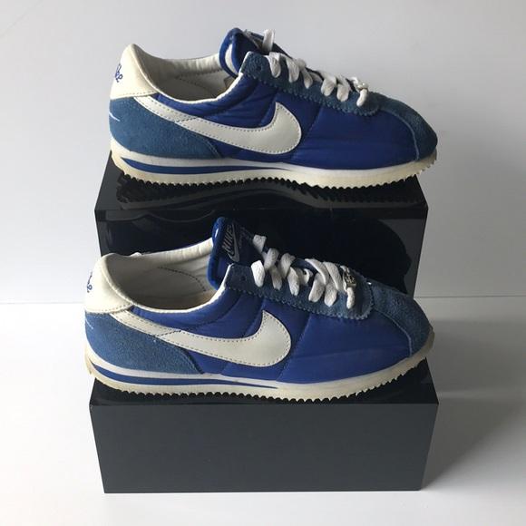 super popular bddad 9cca8 Vintage Nike Cortez Royal Blue and White. M 5b6dc4525bbb800d0f0f5163